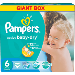 PAMPERS Active Baby 6 EXTRA LARGE